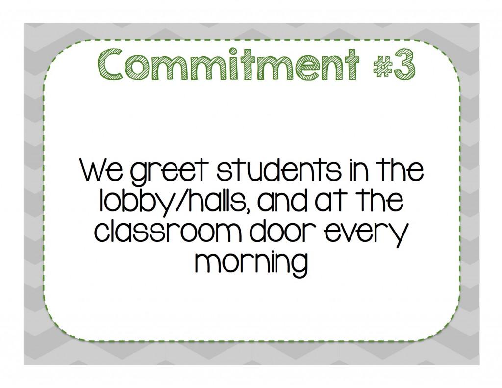 Commitment 3