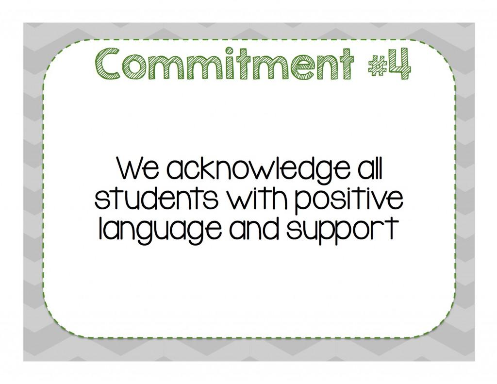 Commitment 4