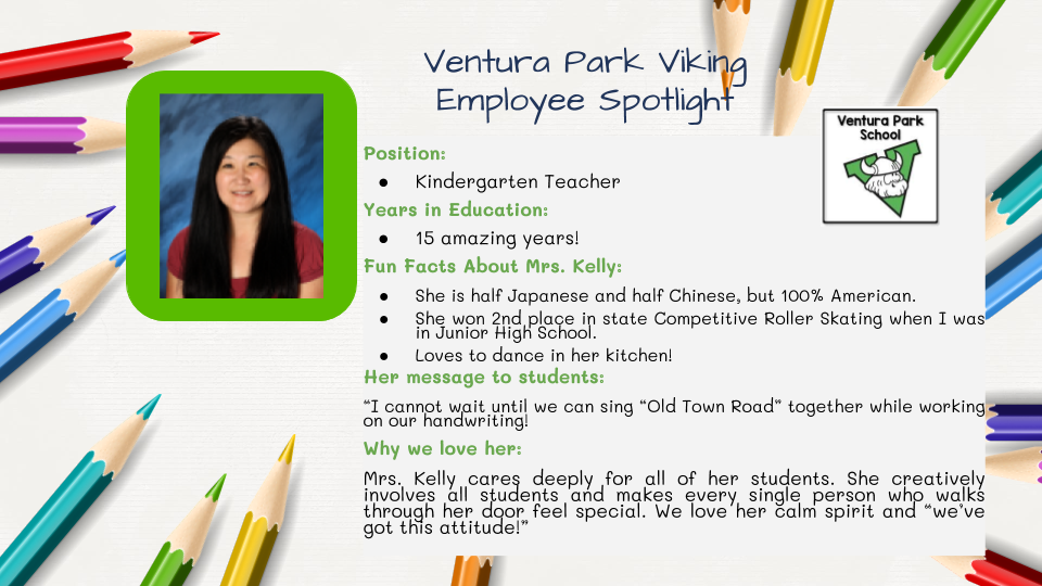 Mrs. Kelly Employee Spotlight