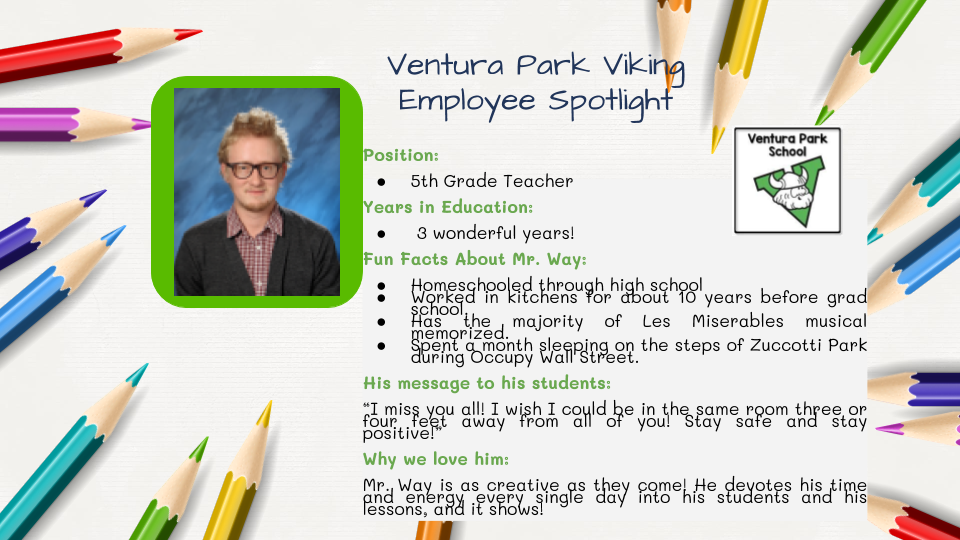 Employee Spotlight Card for Emery Way