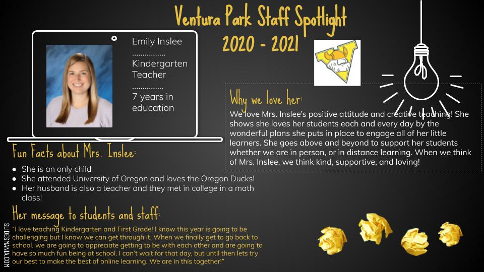 Emily Inslee Employee Spotlight Card